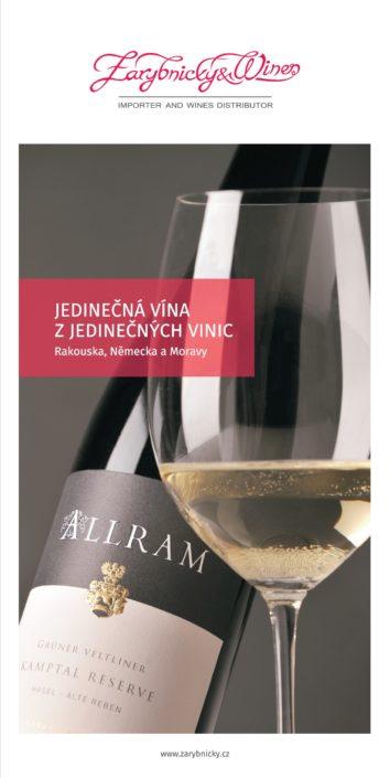 Zárybnický & Wines jedinečná vína